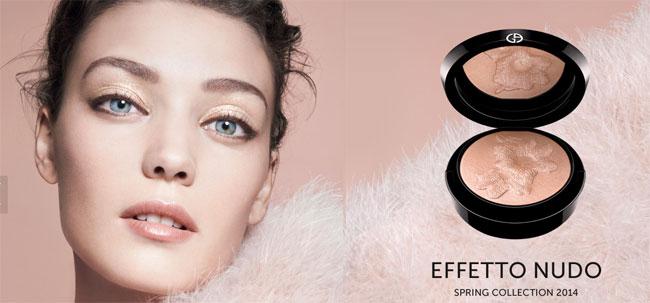 Armani collezione make-up primavera 2014 Effetto Nudo