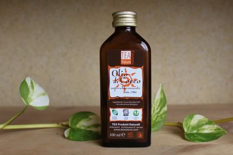 Olio di cocco allo stato liquido