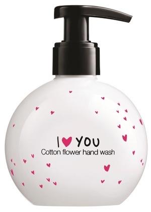 Sapone mani ai fiori di cotone
