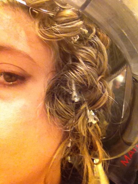 Connu La Pizzicata! La piega per avere capelli ricci senza piastra  QX95